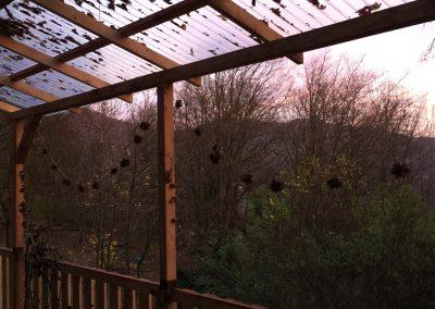 Náš výhled z verandy